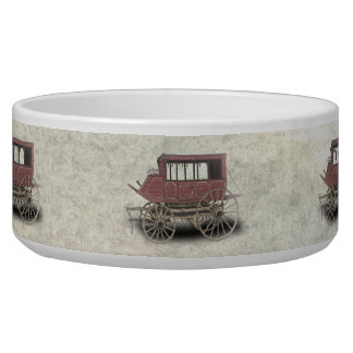 STAGE COACH PET WATER BOWL