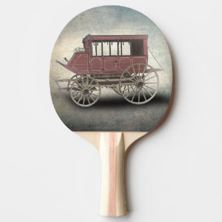 STAGE COACH PING PONG PADDLE