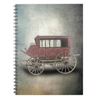 STAGE COACH SPIRAL NOTEBOOK