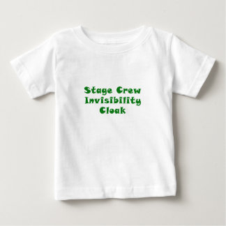Stage Crew Invisibility Cloak Baby T-Shirt