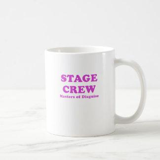 Stage Crew Masters of Disguise Basic White Mug