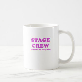 Stage Crew Masters of Disguise Classic White Coffee Mug
