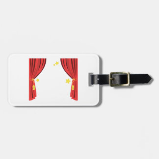 Stage Curtain Luggage Tag
