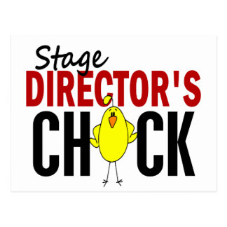 Stage Director's Chick Postcard