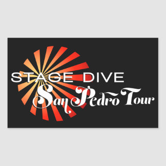Stage Dive - San Pedro Tour Sticker
