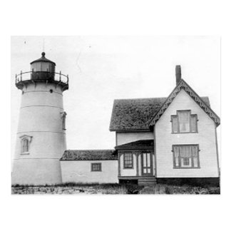 Stage Harbor Lighthouse Postcard