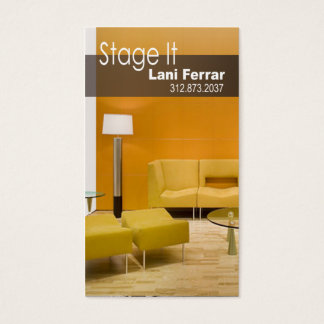 Home Staging Business Cards And Business Card Templates