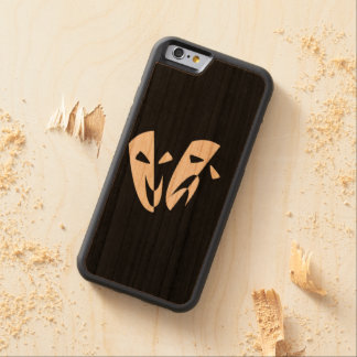 Stage Masks Carved Cherry iPhone 6 Bumper Case