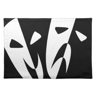 Stage Masks Placemat