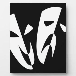 Stage Masks Plaque