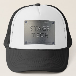 STAGE TECH Cap - Metal Plate Design.