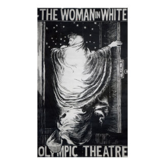 Stage version of 'The Woman in White' Poster