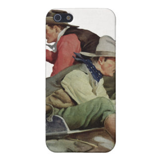 Stagecoach Attack iPhone Speck Case iPhone 5/5S Cases