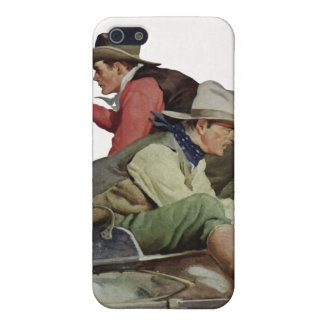 Stagecoach Attack iPhone Speck Case iPhone 5/5S Covers