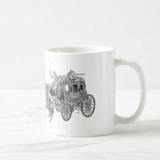STAGECOACH CHROMED COFFEE MUG