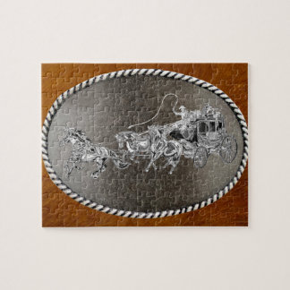 STAGECOACH CHROMED JIGSAW PUZZLE
