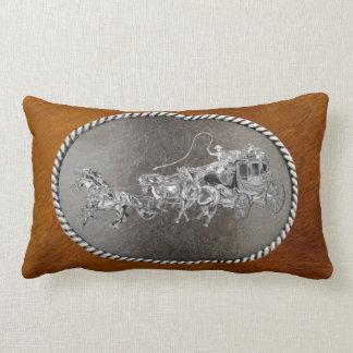 STAGECOACH CHROMED LUMBAR PILLOW