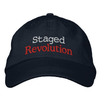Staged Revolution Embroidered Baseball Caps