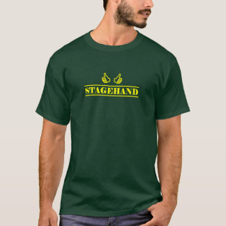 Stagehand yellow color T-Shirt