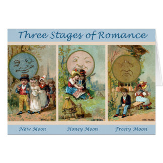 Stages of Romance Card