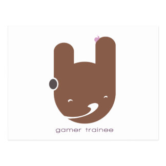 Stagiaire de Gamer Carte Postale