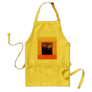 Stain Glass Art Deco Standard Apron