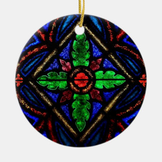 Stain Glass Christmas Ornament