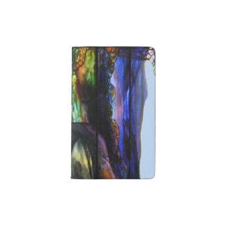 Stain Glass Nature Pocket Moleskine Notebook