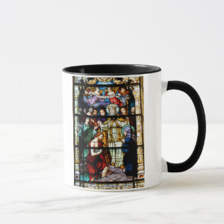 stain glass window mug