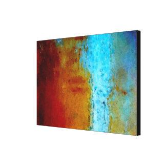 STAINED CANVAS PRINT