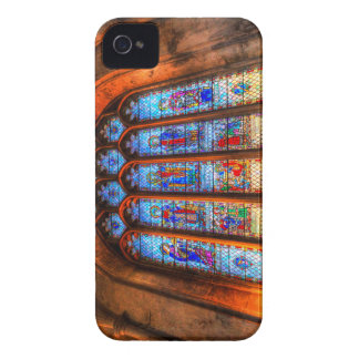 Stained Glass Abbey Window iPhone 4 Case