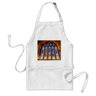 Stained Glass Abbey Window Standard Apron