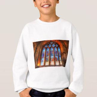 Stained Glass Abbey Window Sweatshirt