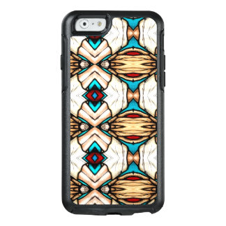 Stained Glass Abstract Art Background OtterBox iPhone 6/6s Case