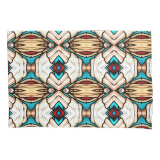 Stained Glass Abstract Art Background Pillowcase