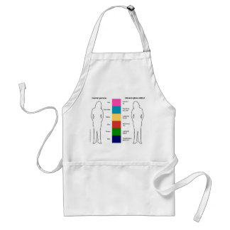 Stained Glass Addict Apron