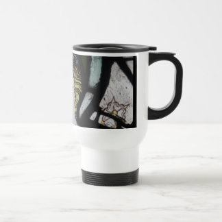 Stained Glass Angel Coffee Mug