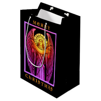 Stained Glass Angel Gift Bag