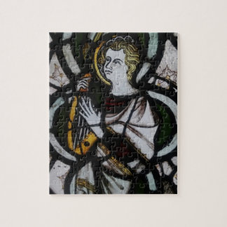 Stained Glass Angel Puzzle