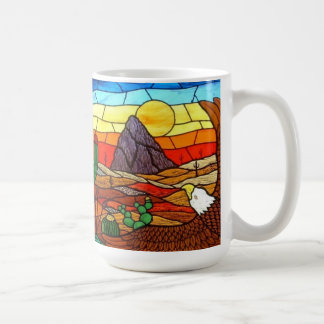 STAINED GLASS ART by David Smith MUG 01