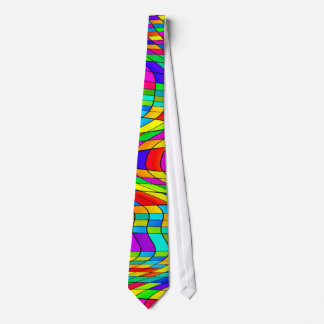 Stained Glass art Tie