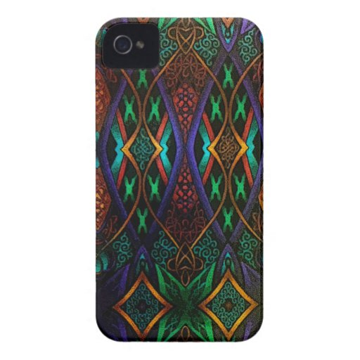 Stained Glass Beauty Blackberry Case