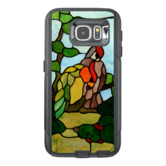 Stained Glass Birds OtterBox Samsung Galaxy S6 Case