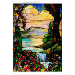 Stained glass (blank note card)