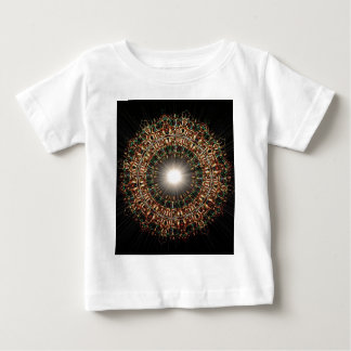 Stained Glass Burst Baby T-Shirt