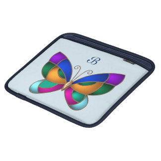 Stained Glass Butterfly iPad Sleeve