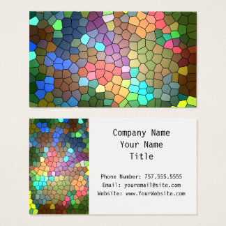 Stained Glass by Shirley Taylor Business Card