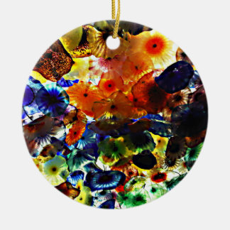 Stained Glass Christmas Ornament