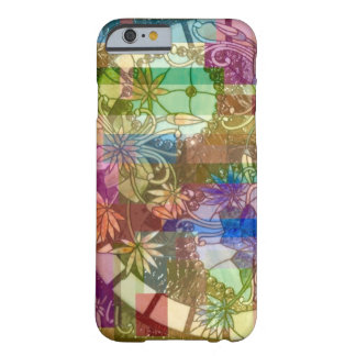 Stained Glass Collage Abstract Barely There iPhone 6 Case