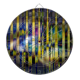 Stained Glass Dartboard
